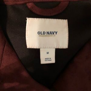 Old Navy Jackets & Coats - Old Navy Faux Suede jacket Med